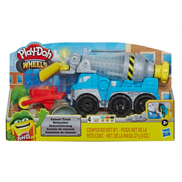 PLAY-DOH WHEELS CAMION CEMENTO