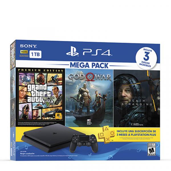 CONSOLA PS4 HW 1TB MEGA 13