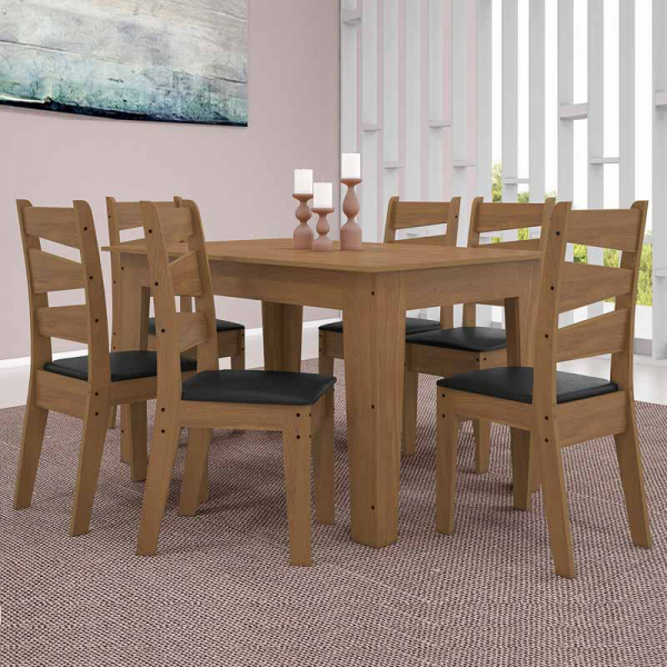COMEDOR ISIS 6S CEDRO GOLD