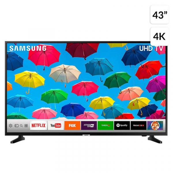 """TV LED 43"""" UN43NU7090GXZS 4K ULTRA HD"""